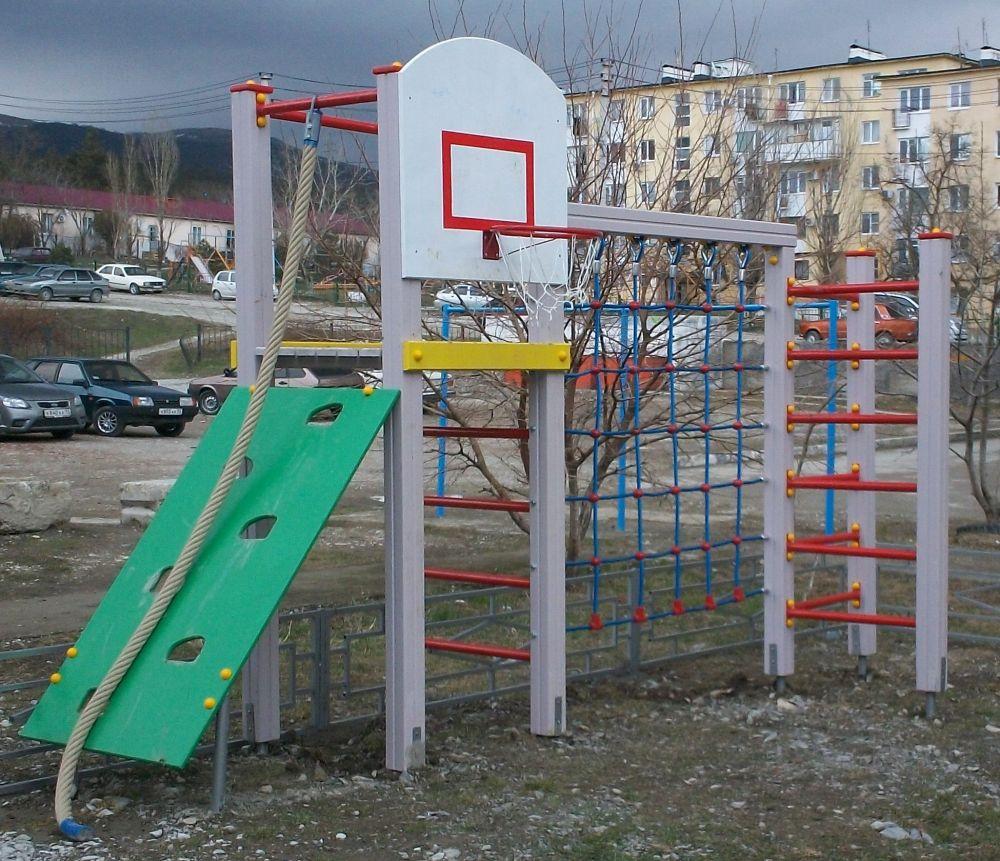 Детский спортивный комплекс для дачи: место для отдыха ребенка 85
