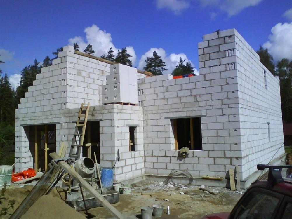 Как построить дом из газобетона своими руками цена